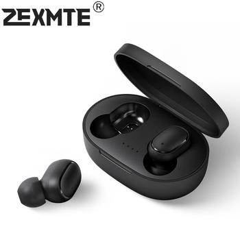 TWS słuchawki 2200 mAh słuchawki bezprzewodowe 9D Stereo Sport wodoodporne słuchawki douszne słuchawki z mikrofonem kompatybilny z Bluetooth tanie i dobre opinie zexmte Dynamiczny CN (pochodzenie) wireless 120dB 80mW Słuchawki do monitora Do gier wideo Zwykłe słuchawki do telefonu komórkowego