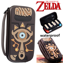 The Legend of Zelda Sheikah Slate Storage Bag Cosplay Props Psp Carrying Water resistent Case Bags Silica Gel Women Men