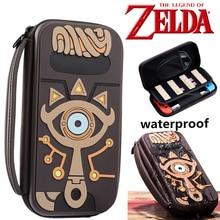 The Legend of Zelda Sheikah Slate worek do przechowywania rekwizyty do Cosplay Psp noszenie wodoodporne torby Case żel krzemionkowy kobiety mężczyźni