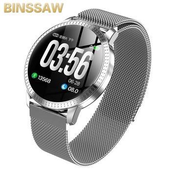 BINSSAW Luxury SmartWatch IP67 Waterproof Heart Rate Monitor Blood Pressure Fitness Tracker Men Women Smartwatch For IOS Android
