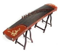 Senior Kayu Merah Bermain Guzheng Otentik Alat Musik Gratis Pengiriman Oleh Ems