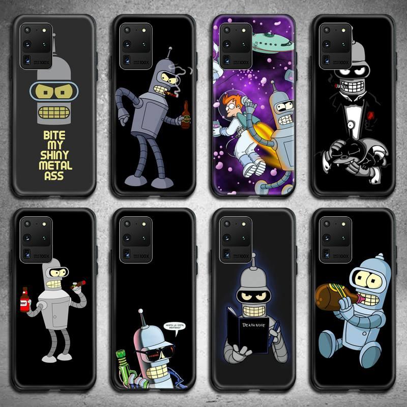 Cute Futuramas Phone Case For Samsung Galaxy S21 Plus Ultra S20 FE M11 S8 S9 Plus S10 5G Lite 2020