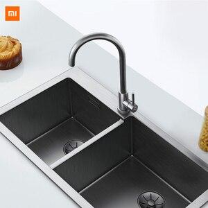 Image 2 - Xiaomi Mijia Yunmi Vòi Nước Thép Không Gỉ Chì Sống Khỏe Mạnh Nước Inox 304 Nóng Lạnh Điều Khiển Kép