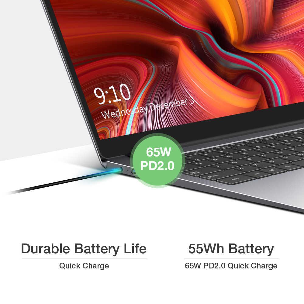 """2020 Chuwi Aerobook Plus Intel I5 Laptop 15.6 """"4K Uhd Display 8Gb Ram 256Gb Ssd 55Wh batterij PD2.0 Snel Opladen"""