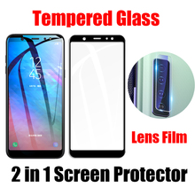 Protective Glass For Samsung Galaxy A9 A8 A7 2018 A9S A8S A6S Back Camera Lens Film Screen Protector Start Lite