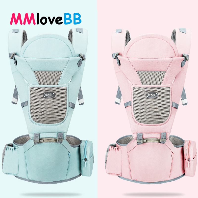 MMloveBB Ergonomic Baby Kangaroo Carrier Backpack Infant Baby Hipseat Carrier For Children Baby Wrap Sling for Newborns|Backpacks & Carriers| |  - AliExpress