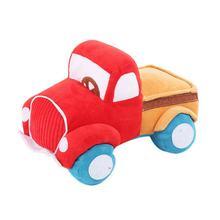 Вельветовая плюшевая игрушка в форме грузовика для домашних