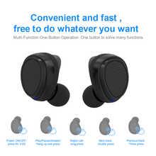 New Bee Wireless Headset Earpieces Sport Wireless Headphones Hands-Free Headset Earbud Earphone For iPhone xiaomi