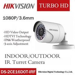 の hikvision DS-2CE16D0T-IRF cvbs/ahd/tvi/cvi 2MP HD1080P ir 20 メートルの屋外と屋内野生角度ナイトビジョン waterprooof hd カメラ