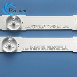 Image 3 - 1006mm 13 LED Backlight Lamp strip For SamSung UN50KU6300 50 TV LM41 00253A E88441 39657A 39658A UE50KU6000 S_KU6K_50_FL30