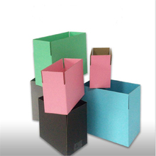50pcs/lot Colourful Express Packaging Box Extra Hard Paper Moving House Supplies Four Sizes