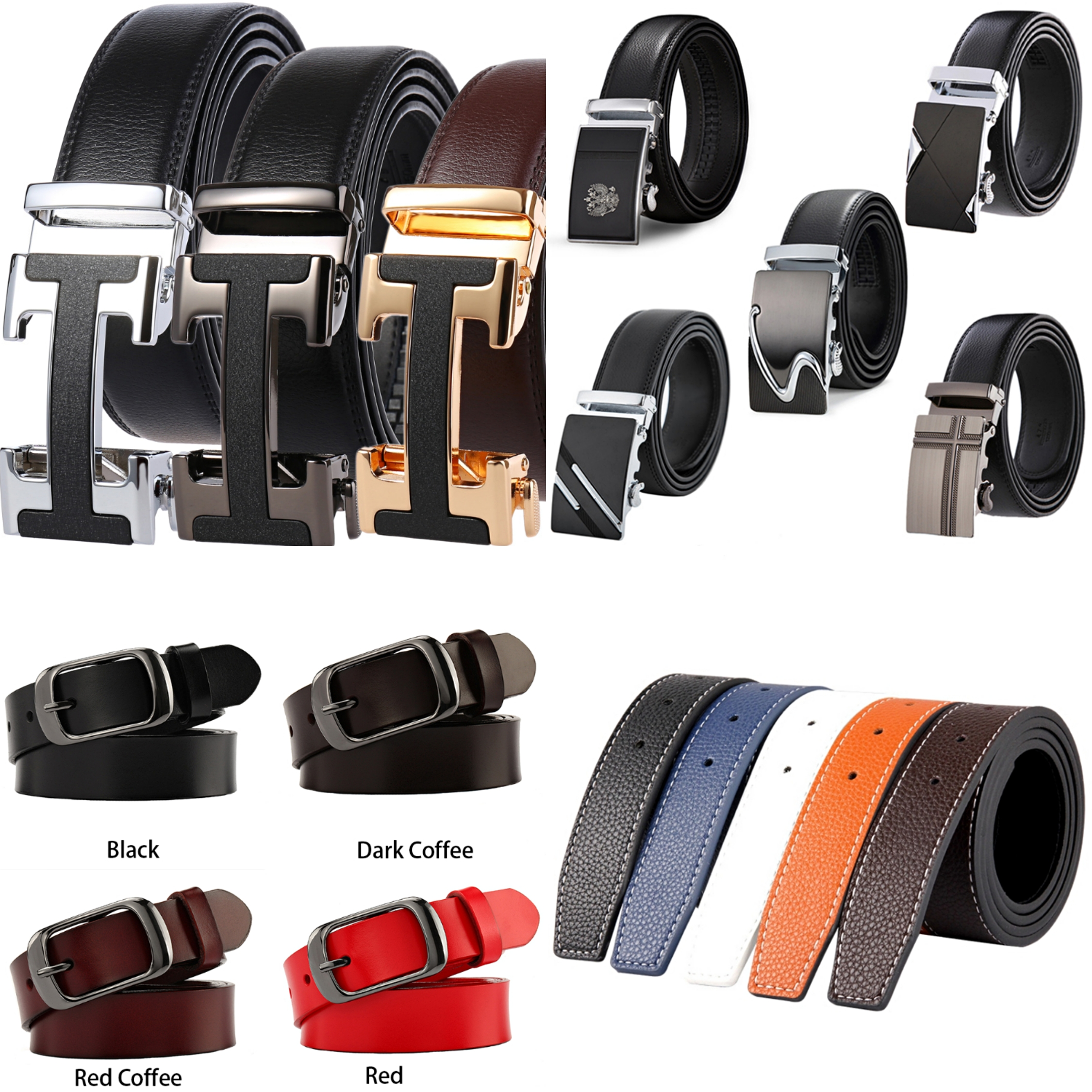 Male Belt New Designer Men's Belts Luxury Genuine Leather Fashion Belt Luxury Brand For Men Women High Quality Automatic Buckle