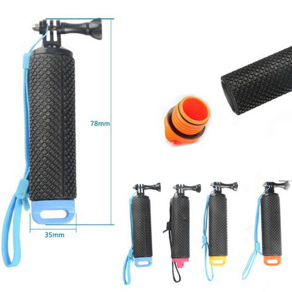 Agua flotante apretón de la mano manejar montaje flotante accesorios para ir Pro Gopro héroe 8 7 6 5 4 Xiaomi Yi 4K SJ4000 SJ5000 Cámara de Acción