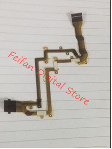 LCD Flex Cable For Panasonic HDC-TM90 TM90 SD80 HS90 HS80 Video Camera Repair Part(China)