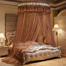 Hanging Dome Mosquito Net Bed Canopy Romantic Bed Valance Anti-mosquito Home Textiles Decor Bedcover Curtain
