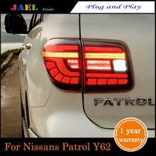 цена на JAEL Flash LED Tail Lights Tail Lights LED Tail Light For Patrol Tail Lights 2012-2018 Rear Lamp DRL+Brake+Park+Signal