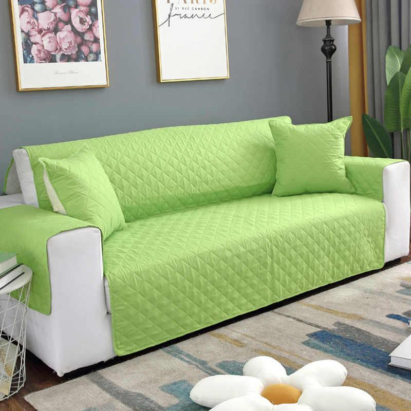 أريكة غطاء أريكة كلب الاطفال حصيرة حامي أثاث عكسها للإزالة مسند الذراع أغطية ل 1/2/3 مقاعد الأرائك غرفة المعيشة