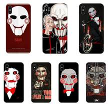 For Xiaomi Redmi Mi 4 7A 9T K20 CC9 CC9e Note 7 9 Y3 SE Pro Prime Go Play TPU Phone Covers Case Horror Saw Mask Man Terrible(China)