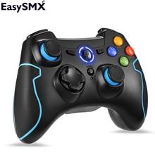 EasySMX ESM 9013 Wireless Gamepad Für PC Android Telefon TV Box Controller Joystick Vibration Joypad Gamepad Für PS3 PC Gamers
