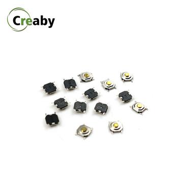 20 sztuk włącznik dotykowy światła SMD wodoodporny ON OFF przycisk dotykowy mikro przełącznik klawiszy przycisk 4pin 4*4*1 5mm tanie i dobre opinie Creaby CN (pochodzenie) Switches Z tworzywa sztucznego Przełącznik Wciskany