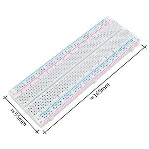 Image 5 - 10 개/몫 breadboard 830 포인트 솔더리스 pcb 빵 보드 MB 102 mb102 테스트 diy 개발