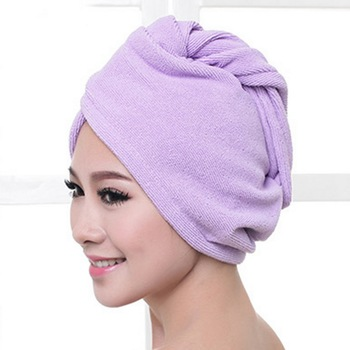 Bath Towel Microfiber Bath Hair Towel Quick Drying Shower Cap Bath Wrap Hat For Women Lady Man Turban Head Wrap Bathing Tools 7 lx 9009 cozy fiber bath towel shower cap blue