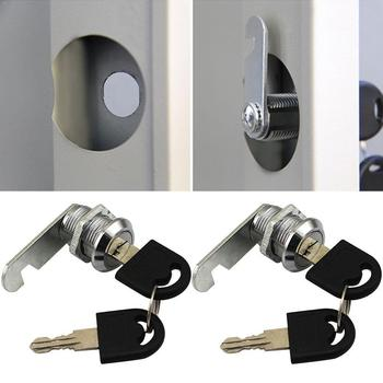 1pc Cam Lock Keys Drawer Lock With 2keys For Mail Suitcase Hardware File Drawerlocks Box Padlock Cabinets For Display Tools W4I8 image