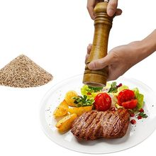 Classical Oak Wood Pepper Spice Mill Grinder Set Handheld Seasoning Mills Grinder Ceramic Grinding Core BBQ Tools Set #10(China)