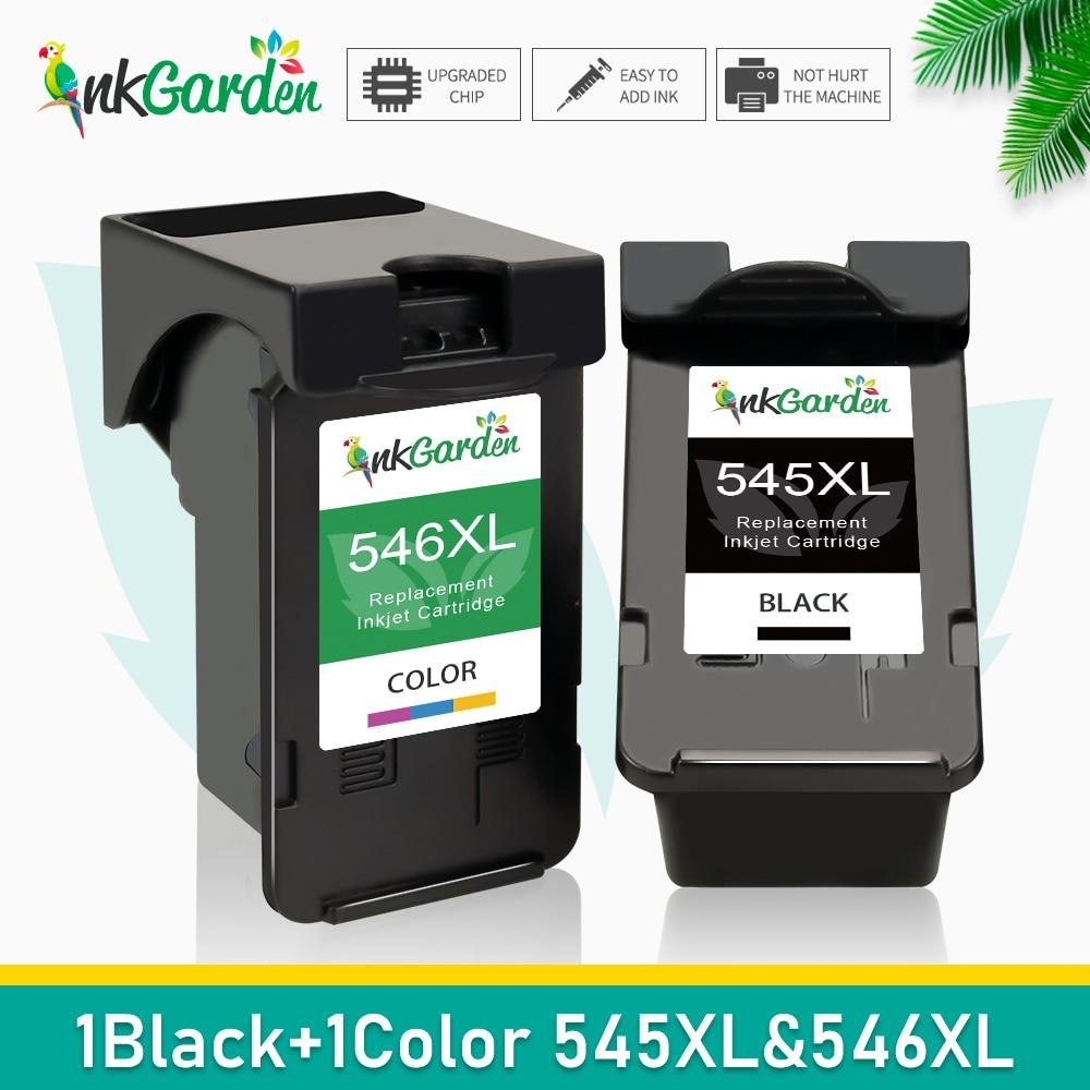 Compatível PG545 545XL 546XL Substituição Do Cartucho De Tinta Para Impressora Canon 545 CL546 Para Pixma MG3051 MG3052 MG3053 MX490