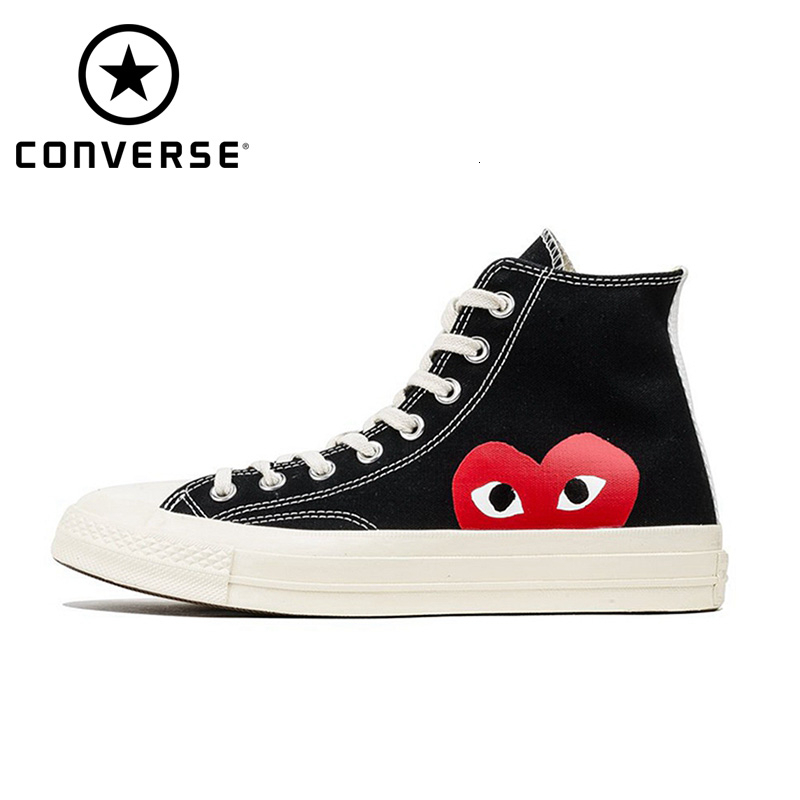 Cdg X Converse 1970s  Mens Skateboarding Shoes Women Canvas Sneakers Original 150204c title=