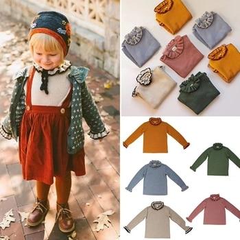 New Winter Kalinka Kids Clothes Girls Sweater Baby Bloom Neck Fashion Knit Cardigan Children Cotton Wool Tops Boys Clothing 1