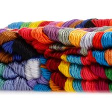Lot 100 Multi Colors Cross Stitch Cotton Embroidery Thread Floss Sewing Skeins P0RE