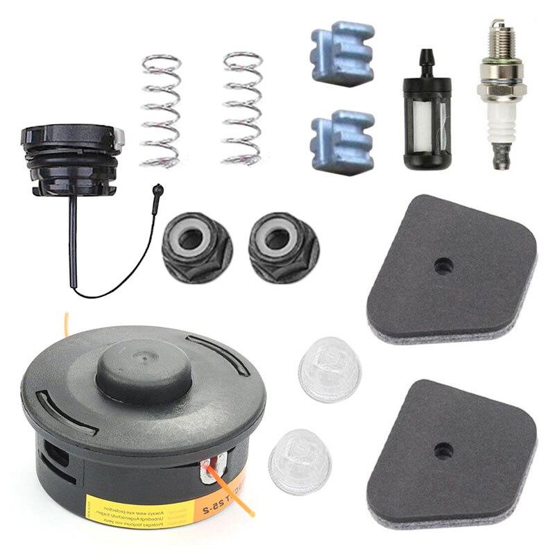 For Stihl FS90R FS100R FS130R FS110R FS240R Trimmer Head Spark Plug Primer Bulbs