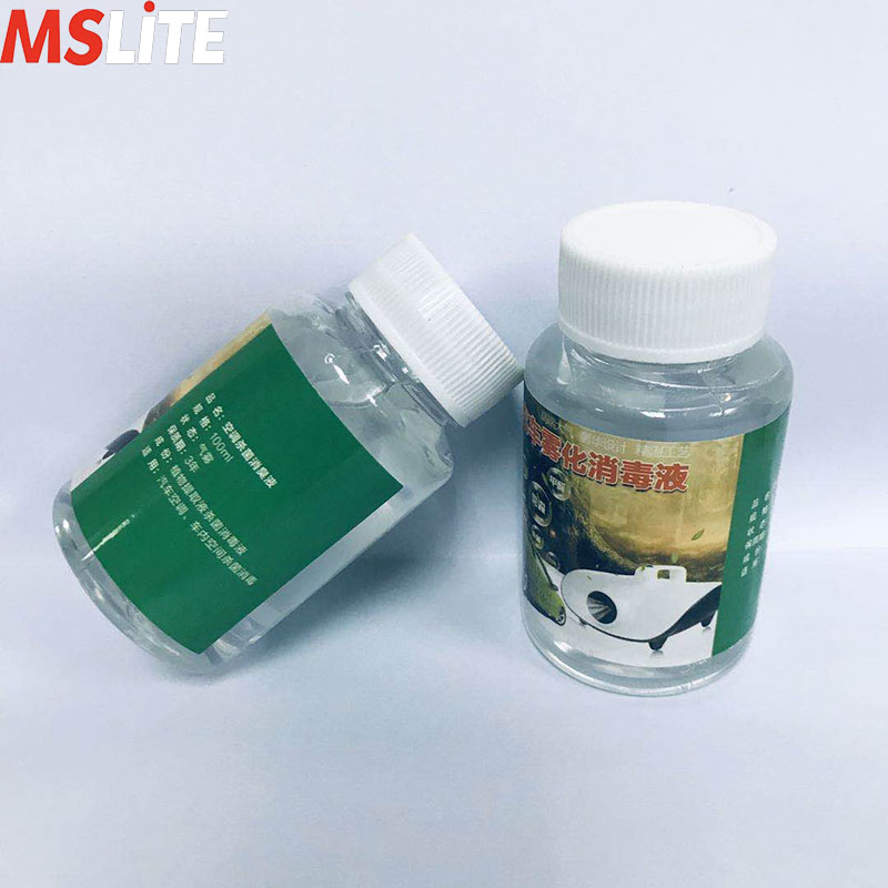 Liquid For Smoke Machine 10 Pcs Atomizing Disinfection Liquid 100ml Each Against Virus/germs/formaldehyde