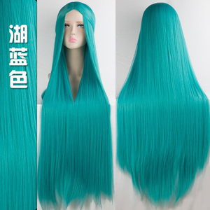 Image 4 - MUMUPI Cos Wig Blonde Red Pink Grey Purple Hair for Party 100CM Long Straight wigs Synthetic cosplay Wig for black Women