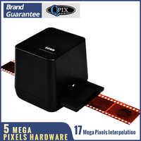 Сканер пленки высокого разрешения сканирования и захвата 17,9 мегапикселей 135 слайд и Фильм Конвертер мм 35 мм отрицательный Фильм сканер