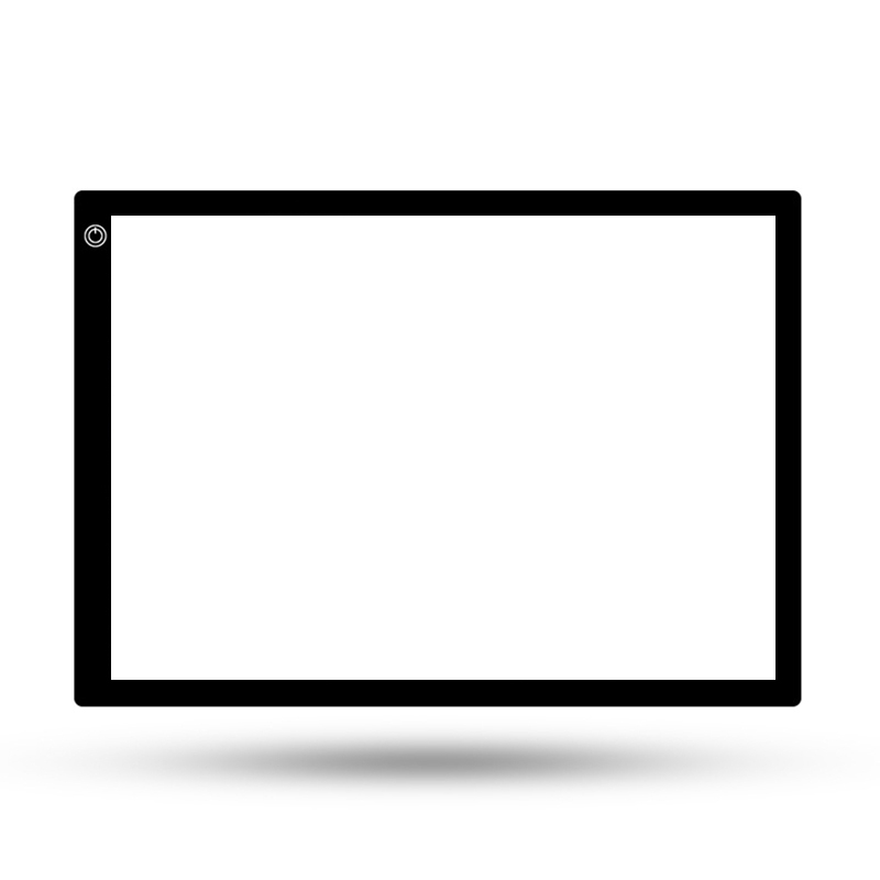 A4 Tracing Light Box for Drawing - Professional Light Table,0.27inch Thin Light Board for Diamond Painting, X-Ray View