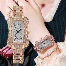 2021 WIILAA New Arrival Women Watches For Ladies Wrist Watches Top Brand Luxury Diamond Watch Rose Gold Stainless Steel Creative