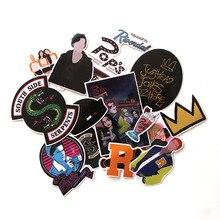CA117 15 Pcs/set Cartoon Waterproof Stickers For diy scrapbooking decals Luggage Skateboard Phone Laptop Bicycle Wall Guitar
