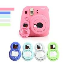 FUJIFILM Instax Mini 7s/8/8 +/9 인스턴트 카메라 숄더 백 보호대 커버 케이스 파우치 용 폴라로이드 카메라 셀프 타이머 미러 용