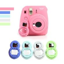 For Polaroid Camera Self Timer Mirror For FUJIFILM Instax Mini 7s/8/8+/9 Instant Camera Shoulder Bag Protector Cover Case Pouch