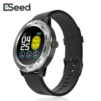 ESEED S18 Smart watch men IP67 waterproof full touch screen long standby Weather Forecast Music Control smartwatch for android