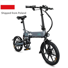 FIIDO D3s Electric Bicycle 7.8Ah Battery Portable Bike Moped Double Disc Brakes LED Front Light 16 Folding E-Bike