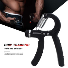 A-Type Adjustable Heavy Grips Hand Fitness Gripper Exerciser