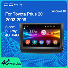COHO Für Toyota Prius 20 2003-2009 Android 10,0 Octa Core 6 + 128G Gps Navigation Multimedia Player auto Radio