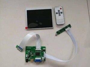 """Yqwsyxl Original 5.6""""inch LCD Display AT056TN53 AT056TN53 V.1 LCD controller driver board HDMI VGA 2AV monitor for Raspberry pie(China)"""