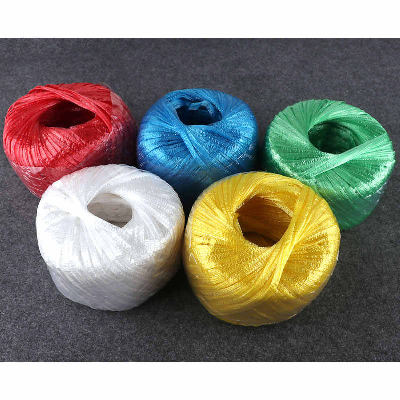 Glass fiber rope wire rope nylon rope PP plastic strapping rope packrope tear tape for packaging