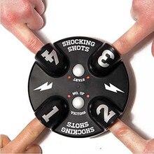 Children Electric Shocking Roulette Lie Detector Funny Shocking Shot Roulette Game Reloaded Lie Detector Electric Shock Toy