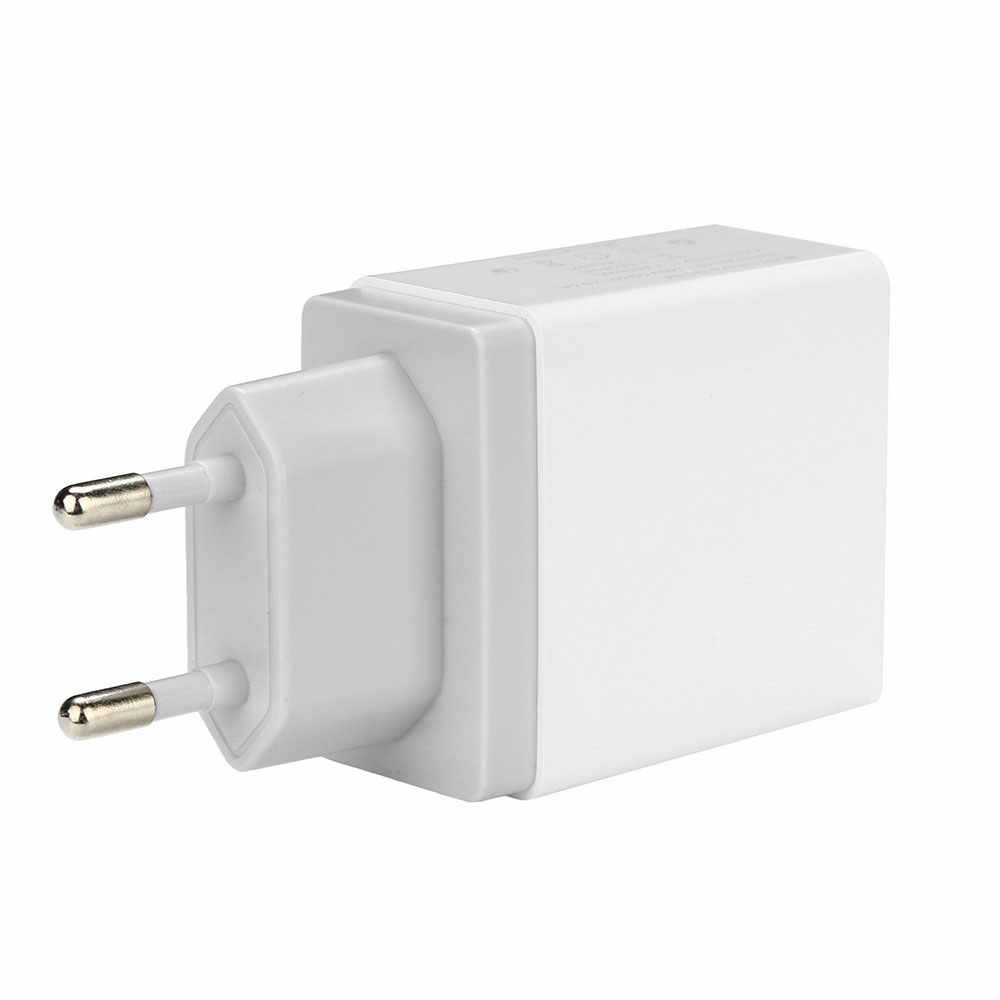 Floveme Charger Cepat 3.0 USB Charger untuk Iphone Samsung Tablet Uni Eropa US UK Plug Dinding Adaptor Charger Ponsel Cepat pengisian