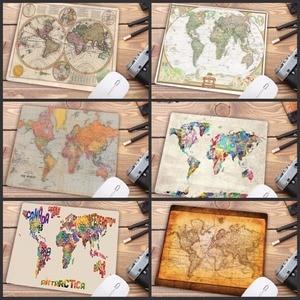 Image 1 - Большой рекламный компьютерный коврик для мыши Mairuige небольшого размера x 2 мм, печатные карты мира, компьютерный коврик для мыши, Гладкий Мягкий Противоскользящий
